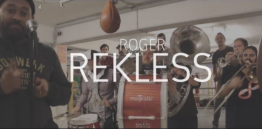 MOOP MAMA trifft ... ROGER REKLESS - Drums (Video)
